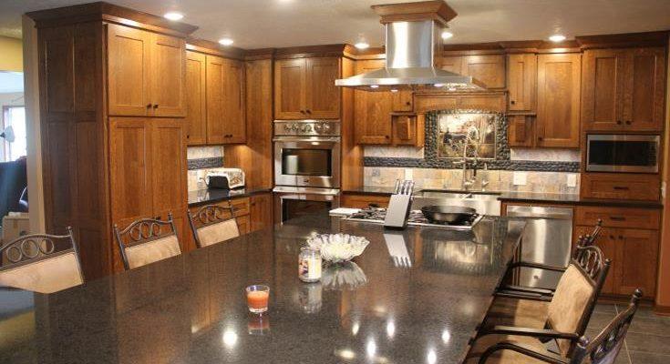 Quarter Sawn Oak Custom Kitchen Utica Pa Fairfield Custom Kitchens
