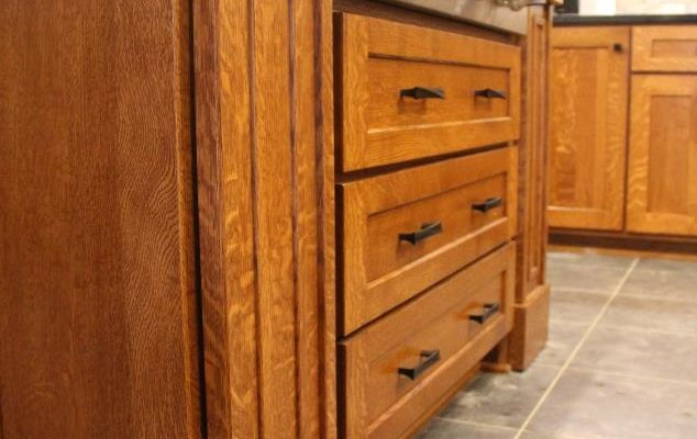 Quarter Sawn Oak Custom Kitchen Utica Pa Fairfield Custom Kitchens