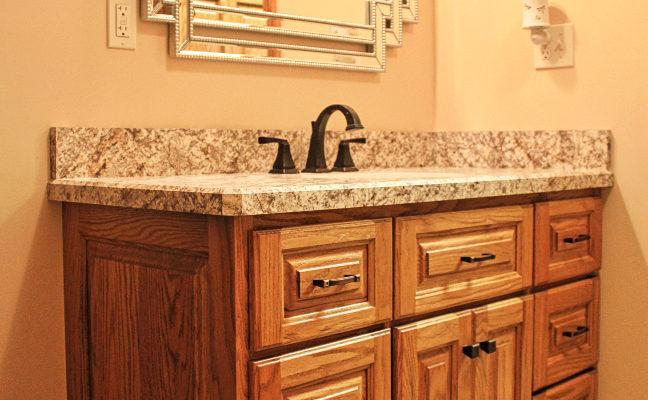 custom-oak-vanity-cabinet