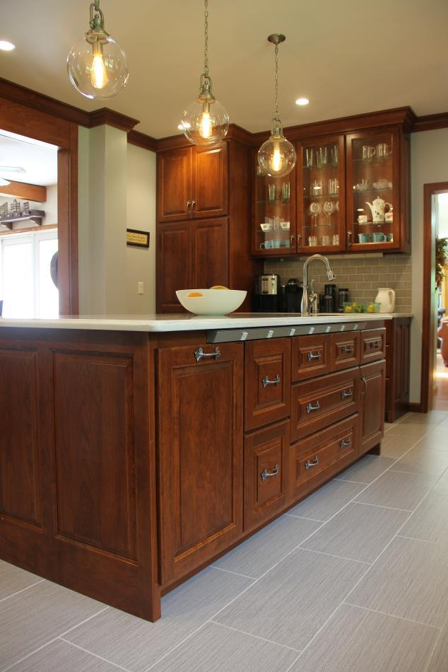 Cherry Custom Kitchen Cabinets - Titusville, PA ...