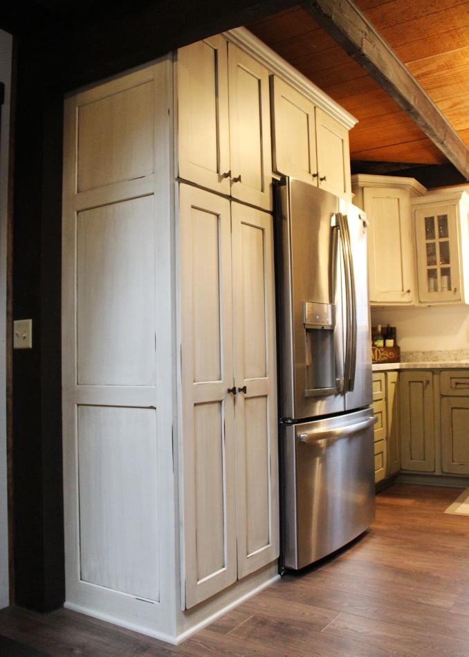 Painted & Distressed Custom Kitchen - Cochranton, PA ...