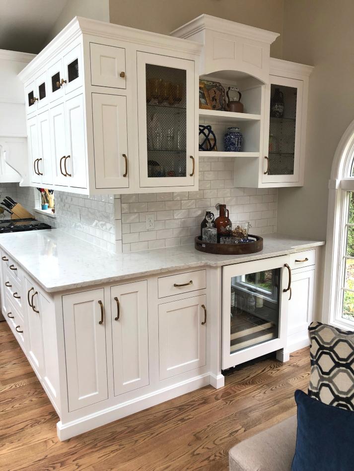 White Custom Kitchen Cabinets Mkm11 Fairfield Custom Kitchens