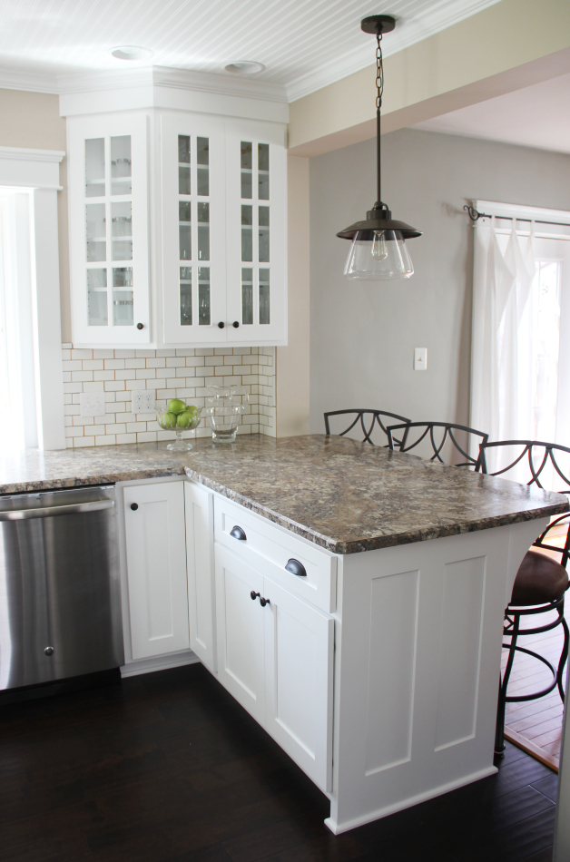 Traditional White Custom Kitchen - Meadville, PA ...
