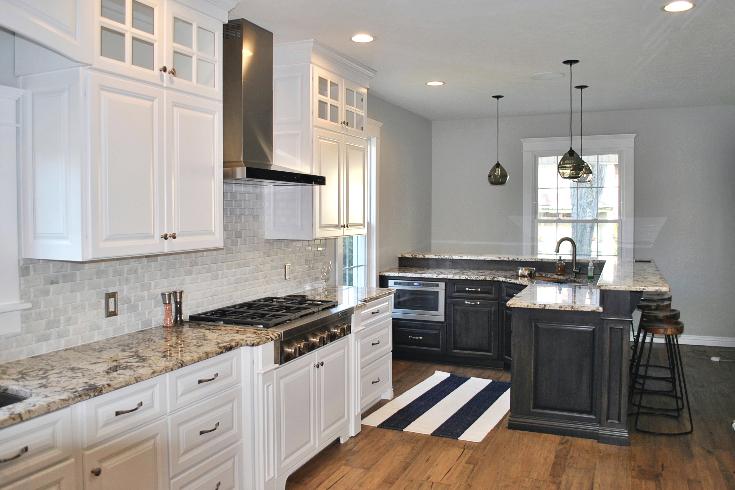 Elegant White Custom Kitchen - Greenville, PA - Fairfield ...