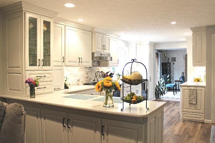 Custom Bone White Kitchen - Fairview, PA - Fairfield Custom ...