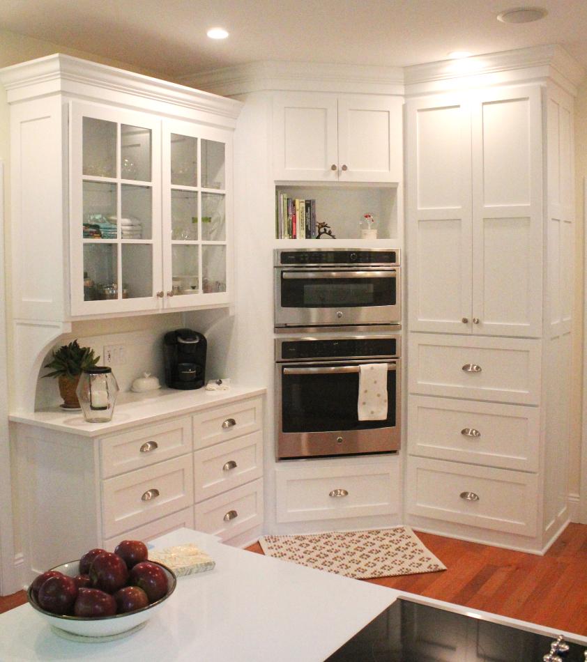 White Custom Kitchen with Cambria Quartz - Cochranton, PA ...